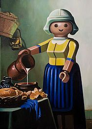 sollier-gallery play mobil art
