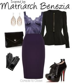 Inspired by Matriarch Benezia from Mass Effect
