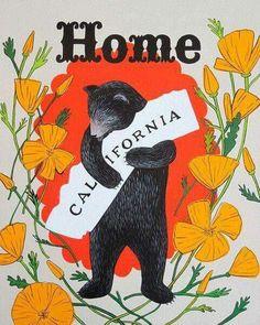 Left Coast Best Coast...bear hug