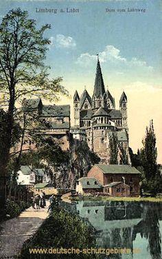 Limburg a. d. Lahn - Dom vom Lahnweg