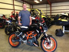 Thank you Cody Lassiter from Waynesboro, MS for getting your 2016 KTM 390 Duke at Hattiesburg Cycles. #ktm