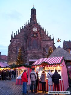 Old town square during Christmas - Nuremberg, Germany