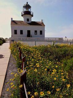 Cabrillo Lighthouse San Diego, California