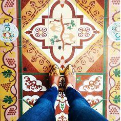 I love you Tel Aviv. #ihavethisthingwithfloors #theshitonmyfeet #metoday #outfit #ootd #shoefie #shoes #tileaddiction #pattern #instafashion #instastyle #fashionblog #fashioninspiration #fromwhereyoustand #feetmeetfloors #fwisfeed #fashion #telaviv #camel #look #love #girl #ihavethisthingwithtiles #ihaveathingwithfloors by theshitonmyfeet