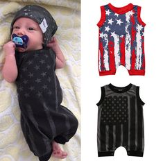 Summer Newborn Baby Boys Girls Infant Romper Jumpsuit Bodysuit Clothes Outfits #Unbranded #Casual