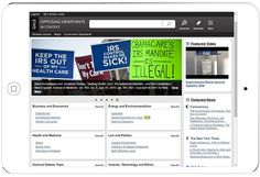 Desktop Portal Home Page