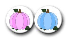Halloween Pumpkin Theme Gender Reveal Party by PutOnYourPartyCap