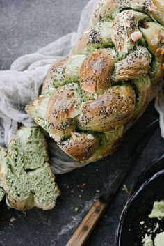 Friends if you love matcha, this bread recipe is a must bake.