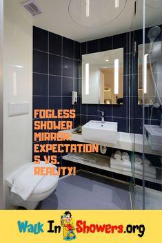 Fogless Shower Mirror: Expectations Vs. Reality!
