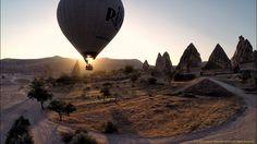 Hot air balloons of Cappadocia, Turkey (Filmed using GoPro Hero 3+ and P...