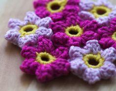 crochet flower patttern