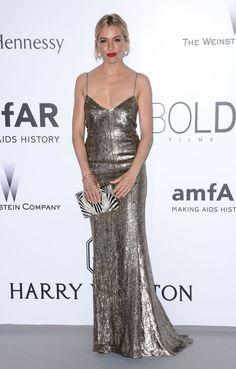 Cannes 2015 - Sienna Miller in Ralph Lauren - Day 9 (AmfAR Gala)