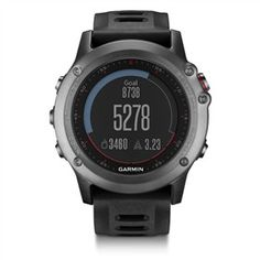 Garmin Fenix 3 Gray is a rugged, capable and smart training watch for outdoor navigation.