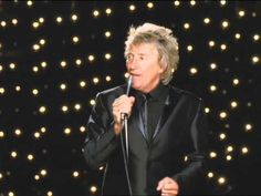 "Listen to Rod Stewart's ""What A Difference A Day Makes"" from his new album Fly Me To The Moon. The Great American Songbook Vol. Rod Stewart Concert, Great American Songbook, Easy Listening, Music People, Live Tv, My Music, Bones, Music Videos, Singer"