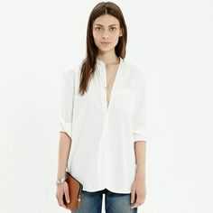 Madewell cargo shirt