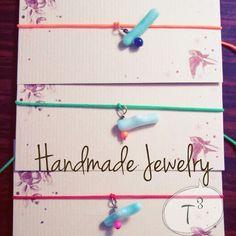 HandmadeJewelry T3-Brand ハワイで仕入れた 珊瑚のコードブレスレット