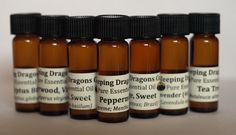 Aromatherapy Set, 7 Therapeutic Essential Oils, SUPER 7, 100% Pure Undiluted #SleepingDragonsCompany