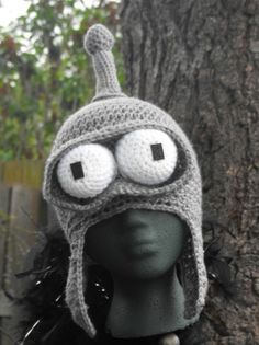 The ORIGINAL Crocheted Bender Hat | SourPatchCrochet - Accessories on ArtFire