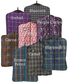 Centaur Fashion Garment Bag - BLACKWATCH PLAI  600 Denier  waterproof-breathable garment bag with front zipper. Travel Bags Store 78510fd8a2fc8