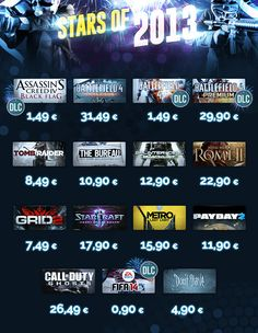 Stars of 2013! Best games in ultra price! Get it now! https://www.g2a.com/r/2013stars