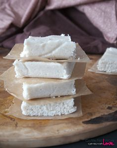 No-Bake Coconut Bars {Gluten-Free, Vegan}
