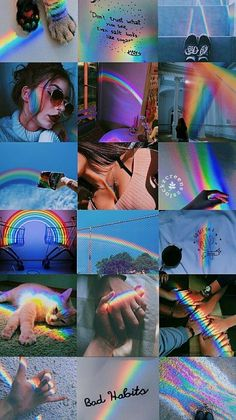 Iphone Wallpaper - l& Rainbow& girl🌈 -------- - ------ -. Iphone Wallpaper - l& Rainbow& girl🌈 -------- - ------ -. Aesthetic Pastel Wallpaper, Aesthetic Backgrounds, Aesthetic Wallpapers, Tumblr Wallpaper, Screen Wallpaper, Wallpaper Backgrounds, Wallpaper Art, Gay Aesthetic, Aesthetic Collage