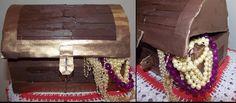 Ranjana's Craft Blog: DIY craft- Tutorial to make Sandook(Box) from wast...