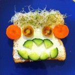 funny face food
