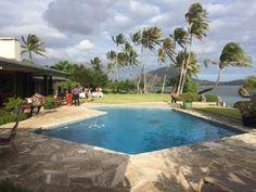 さとうあつこのハワイ不動産: ラグーンに囲まれたVladimir Ossipoffデザインの邸宅