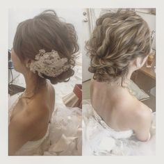 Bridal Updo, Bridal Makeup, Peach Sapphire Rings, Bride Hairstyles, Bridal Style, Style Me, Wedding Decorations, Hair Beauty, Long Hair Styles