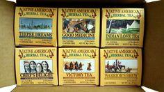 Tea Boxes | Tea Sampler | Tea Variety - Native American Tea Company