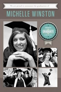 Send a cool graduation card with photos and personalized messages. Free account: http://www.pixingo.com/karmen