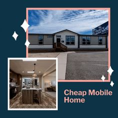 If you want to buy a good mobile home with two bathrooms, then this is what you need. RC3076A Home Cheap Mobile Homes, Mobile Homes For Sale, Best Mobile, Modular Homes, Virtual Tour, Square Feet, Bathrooms, Floor Plans, Construction