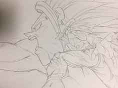 Dragon Ball Z, Dragon Art, Drawing Sketches, Pencil Drawings, My Drawings, Drawing Reference Poses, Anime Sketch, Character Drawing, Anime Guys