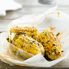 Add a boost of flavor to grilled corn with cayenne and chile peppers. More grilled appetizers: http://www.bhg.com/recipes/grilling/grilled-appetizers/?socsrc=bhgpin051513grilledchilecorn=11
