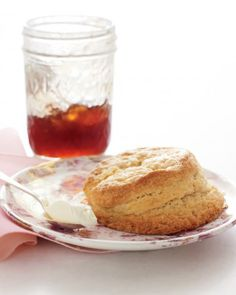 Recipe: Classic Rich Cream Scones. WOW that looks good right about now.