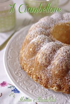 Il Ciambellone by MentaeCioccolato, via Flickr