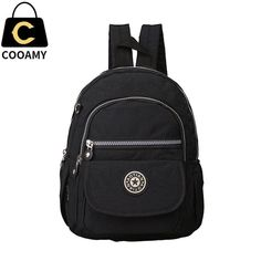 women's backpack for teenage girls nylon backpack female schoolbag ladies school bag backpack small bagpack shoulder bag