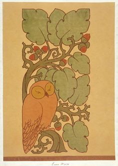 The Owl | Voysey | V&A Search the Collections