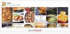 Follow my PASTA board on Pinterest