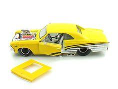 1966 Chevy Chevelle 396 Pro Street 1/24 Yellow