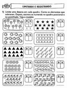 15 Atividades unidade e dezena para imprimir Teach English To Kids, Teaching English, Kindergarten Math Worksheets, Classroom Activities, Tens And Ones Worksheets, Word Sentences, 1st Grade Math, Math For Kids, Common Core Standards