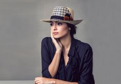 A moment of beauty: Yosuzi Sylvester's gorgeously handcrafted hats that celebrate her Guajiro tribe heritage. #fashion