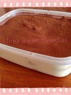 豆腐クリームティラミス