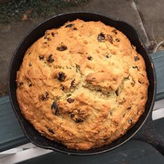Make this moist Irish soda bread for your St. Patrick's Day dinner or anytime you'd like a nice hearty side dish to go with your meal. It has plenty of raisins. Irish Bread, Moist Irish Soda Bread Recipe, Irish Cake, Bread Recipes, Cooking Recipes, Cooking Bread, Cooking Games, Bread Baking, Easy Recipes