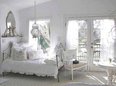 20 Amazing Shabby Chic Bedrooms - Exterior and Interior design ideas Shabby Chic Bedrooms, Shabby Chic Cottage, Shabby Chic Homes, Shabby Chic Furniture, Shabby Chic Decor, Cottage Style, Rustic Decor, Romantic Bedrooms, Cottage Bedrooms