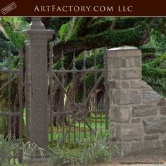 45 Best Wrought Iron Fencing Images Iron Gates Entrance
