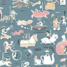 carousel wallpaper decor | Decorate with a Carousel.