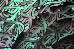 Let's give a closer look at the stunning work of Jimmy Alcala, he is a visual artist into modern calligraphy based in Marseille, France. Calligraphy Wallpaper, Arabic Calligraphy Art, Calligraphy For Beginners, Graffiti Painting, Zen Art, Art Journal Inspiration, Abstract Canvas, Art Photography, Lettering
