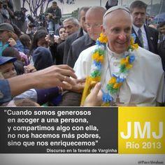 Discurso del Papa en la Favela Varginha I